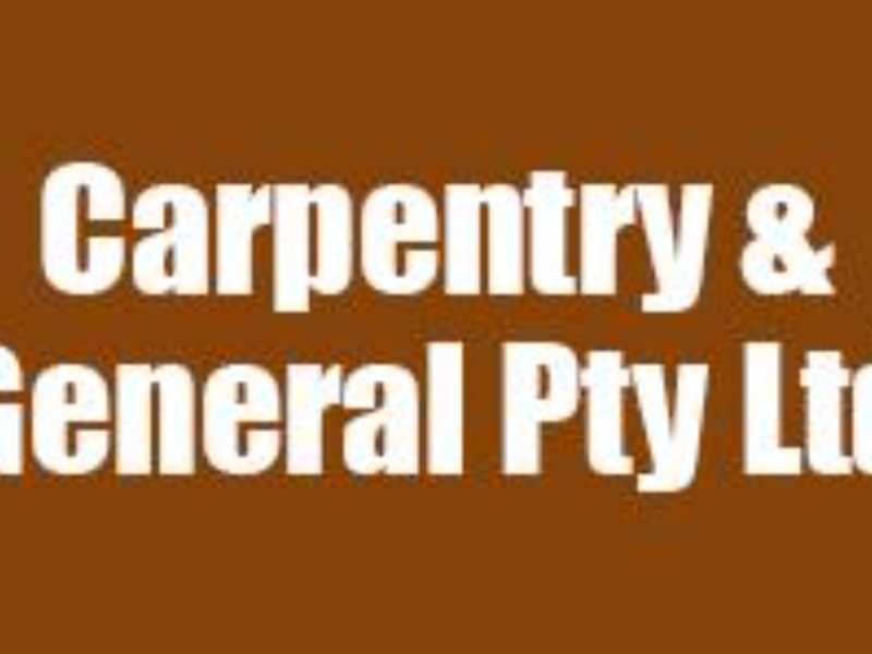 Carpentry and General Pty Ltd